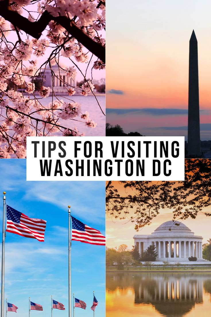 tips for visiting washington dc