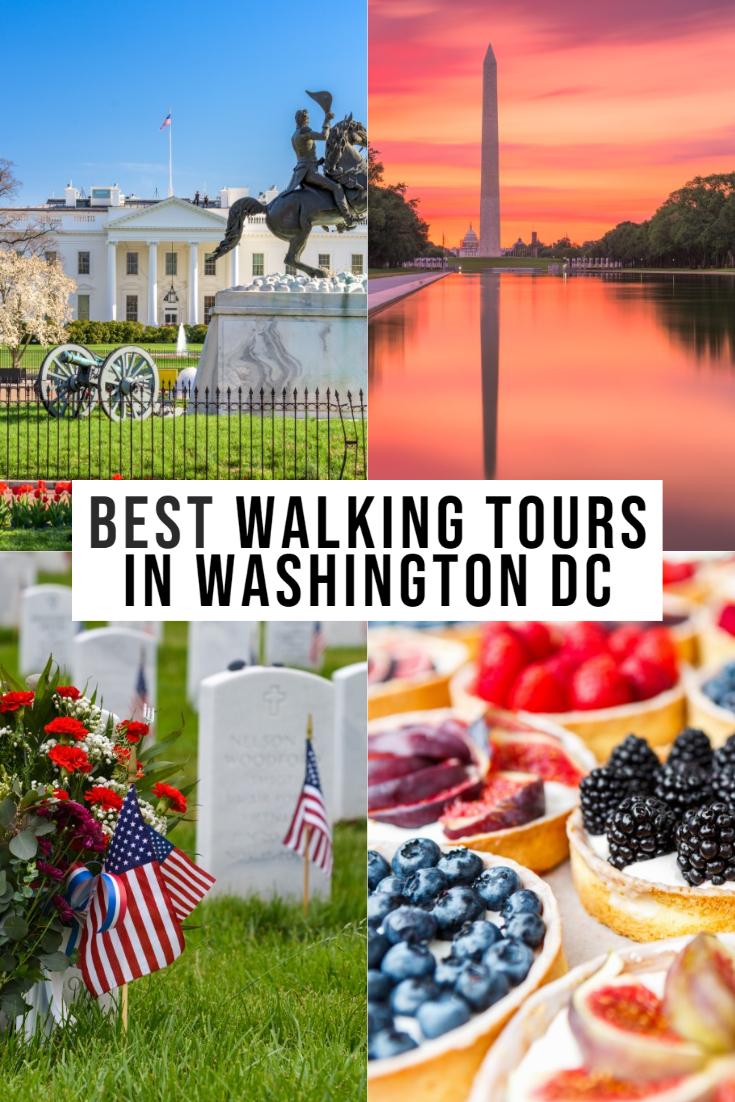 walking tours of washington dc