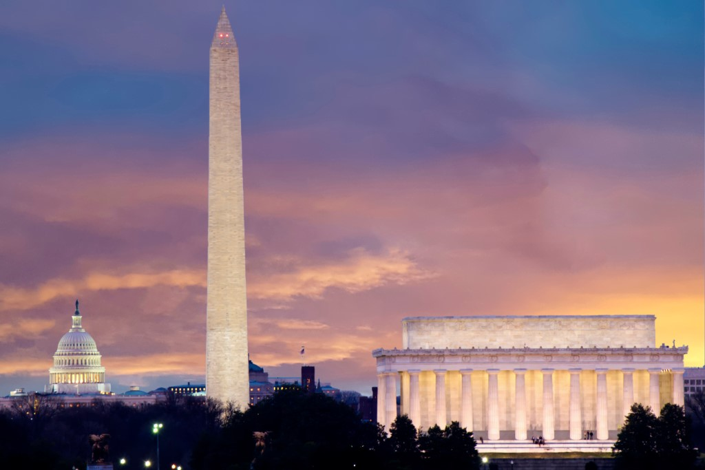 washington dc itinerary